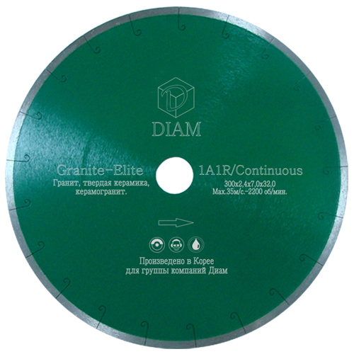 Алмазный диск Diam Granite-Elite ExtraLine 350 (32/25,4) мм